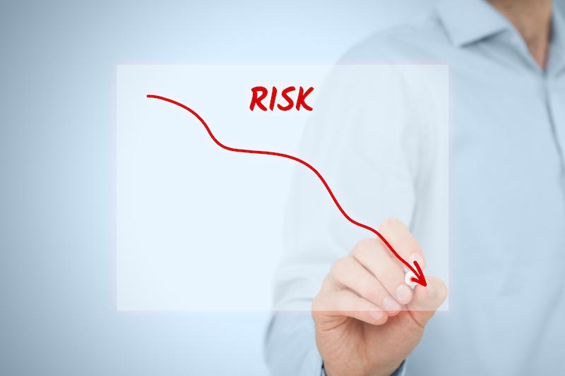 リスクの減少