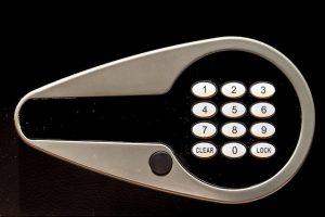 暗証番号タイプの金庫