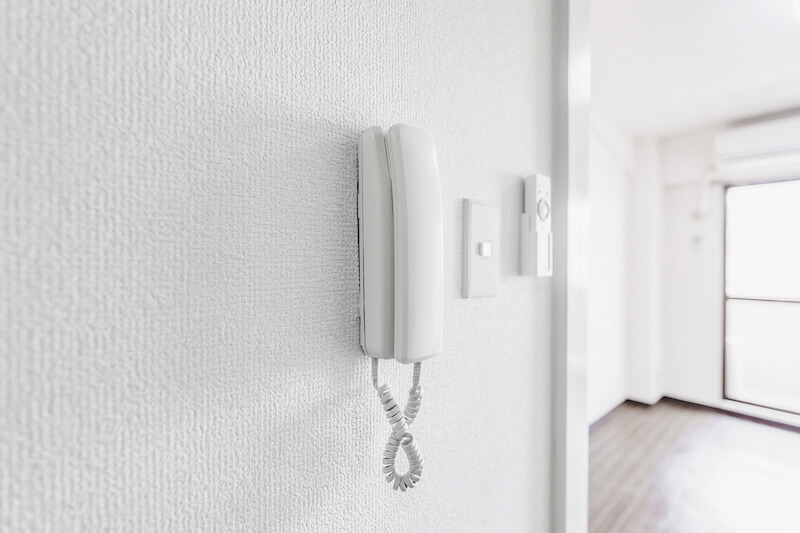 通話専用のインターホン