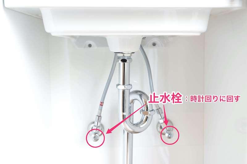 止水栓の場所解説